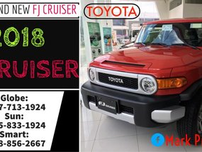 Brand new 2018 Toyota FJ Cruiser Limited Brand New Only Call: 09258331924 Now!