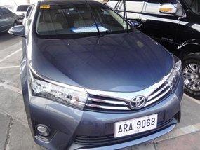 2015 Toyota Corolla Gasoline Manual