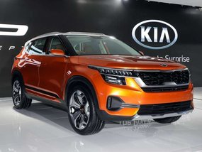 Kia SP Crossover Concept unveiled in India