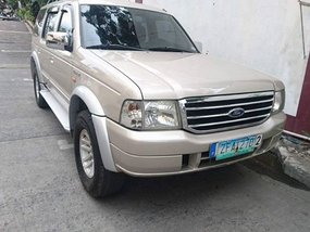 2007 Ford Everest 4x2 for sale