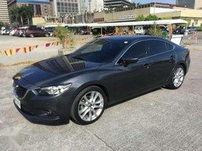 Fresh 2014 Mazda 6 AT Gray Sedan For Sale