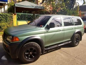 Mitsubishi Montero 4x4 1997 Green For Sale