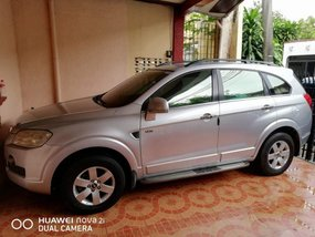 Chevrolet Captiva 2009 (acquired) TOP OF THE LINE Silver