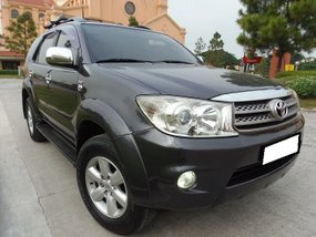 SuperLoaded.Must See.Rush Toyota Fortuner G AT 2.5L D4D Diesel 2009 for sale