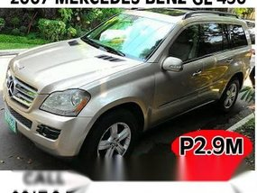 2007 MERCEDEZ BENZ GL-450 IN MAKATI CITY