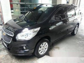 2013 CHEVROLET SPIN HATCHBACK COLOR BLACK