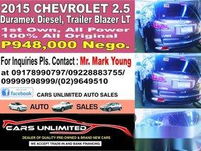 2015 Chevrolet 2.5 CARS UNLIMITED Auto Sales