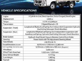 Foton Tornado Light duty truck 2018 for sale