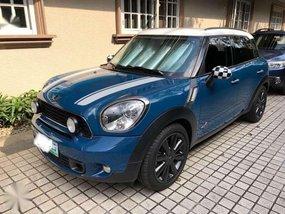 Mini Cooper Countryman S 2012 Blue For Sale
