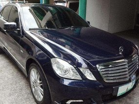 Mercedes Benz E250 AT Blue Sedan For Sale