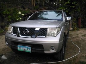 Nissan Frontier Navarra 2009 Silver For Sale