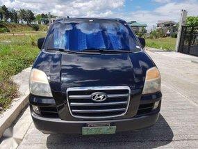 2007 Hyundai Starex CRDi AT Black Van For Sale