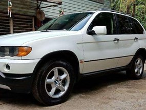 BMW X5 2001 White SUV Very Fresh For Sale