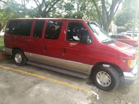 2002 Ford E150 Van FOR SALE