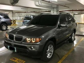 BMW X5 3.0 Diesel 2005 Gray SUV For Sale