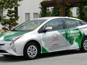 Toyota builds world's first hybrid flexible-fuel vehicle (FFV)