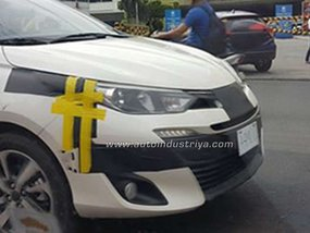 Next-gen Toyota Vios 2018 caught tested in the Philippines