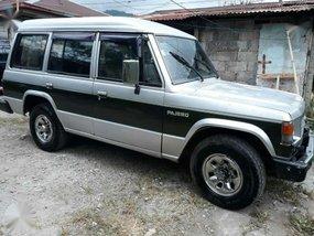 1989 Mitsubishi Pajero Silver SUV For Sale