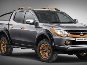 Mitsubishi Triton furnished with limited off-road Barbarian edition