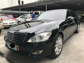 2008 Mercedes Benz S350 AT Black For Sale