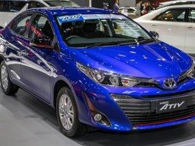 Toyota Yaris Ativ 2018 displayed at Bangkok Motor Show