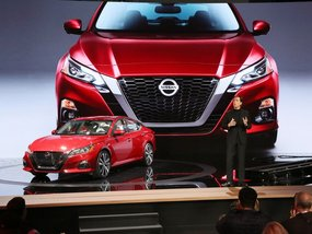 Admire the bolder all-new Nissan Altima 2019 at NYAS