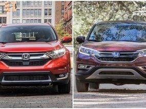Honda CRV 2018 vs 2017: Spot the changes side-by-side