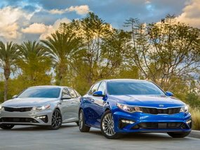 Kia Optima 2019 receives minor trim and tech updates
