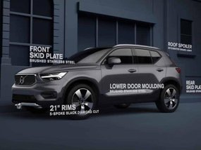 Volvo XC40 2018 gets spruced up with new exterior styling kit