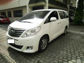 2014 Toyota Alphard Automatic Gasoline well maintained for sale