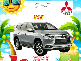 Mitsubishi Montero 2017 best offer for sale