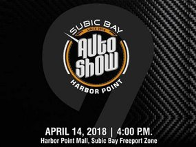 9th Subic Bay Auto Show to happen on April 14th at Harbor Point Mall