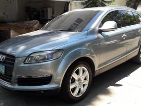 Selling Silver Audi Q7 2008 at 61253 km in Quezon City
