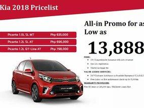 Brand new Kia Picanto 2018 for sale