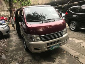 2013 Nissan Urvan ESTATE top of the line model diesel manual