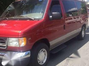 2003 Ford E150 Captains Chair,