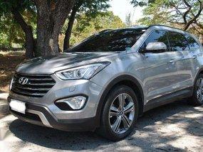 2015 Hyundai Grand Santa Fe AT Diesel CRDI Silver Top of the Line Casa