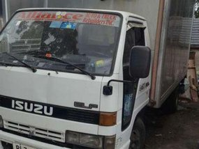 2015 Aluminum van ISUZU Elf truck for sale