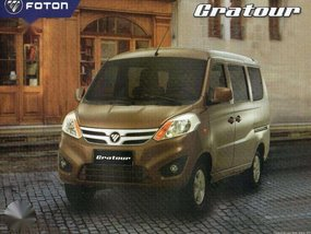2016 FOTON GRATOUR 7seater P28K Down Payment All in Promo