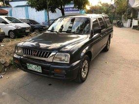 Mitsubishi L200 2000 4x2 Gray Pickup For Sale