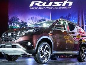 7-seater Toyota Rush 2018 officially comes out for Philippine market