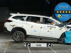 Toyota Rush 2018 receives a five-star safety rating from ASEAN NCAP