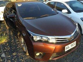 2015 Toyota Corolla Altis 1.6 G 6 Speed MT