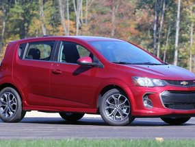 Chevrolet Sonic to come around as a 2019MY
