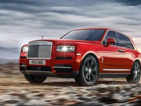 Luxury Rolls-Royce Cullinan 2018: First SUV from the brand priced at $325K