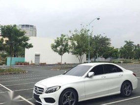 Mercedes Benz C200 AMG White For Sale