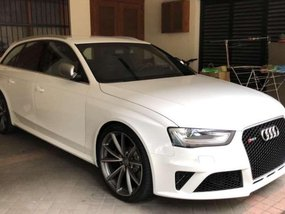 2014 Audi RS4 Avant Wagon White For Sale