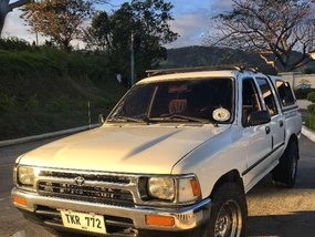 Toyota Hilux 1992 2.4 Diesel White For Sale