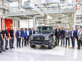 Mercedes-Benz G-Class 2019 starts going on the production