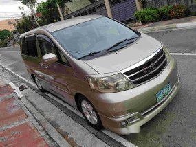 Well-maintained Toyota Alphard 2002 for sale